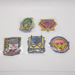 *3/$20* Funko patches DC Comics lot